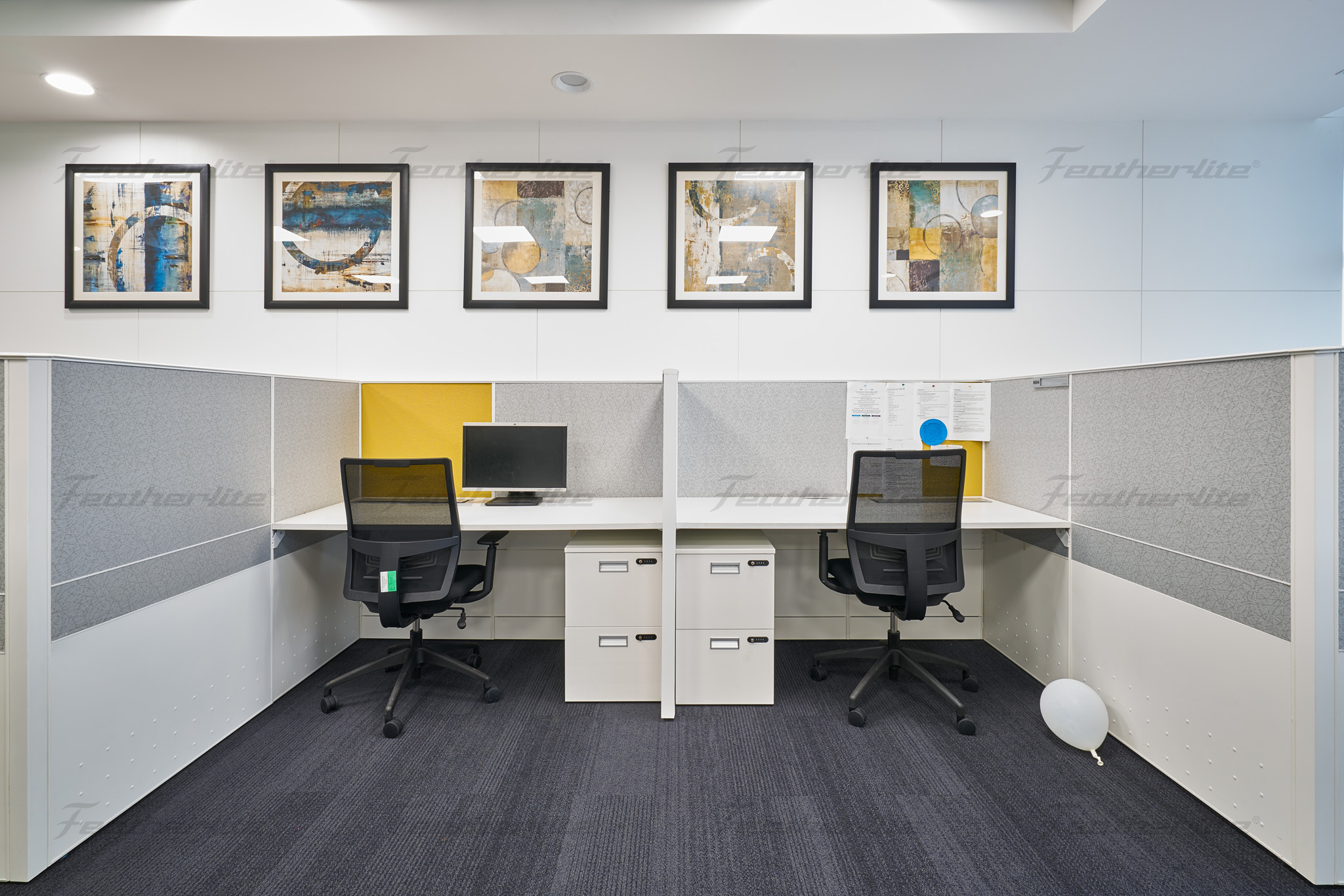 HP Hyderabad Office Modular Workstations | Featherlite Office Furniture | Modular Workstations