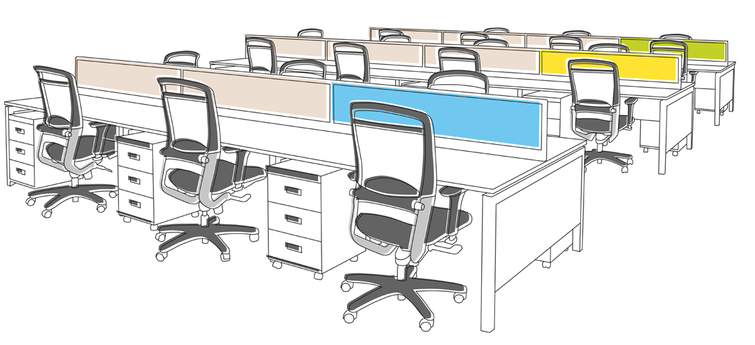 Office Furniture: Office Chairs | Designer Modular ...